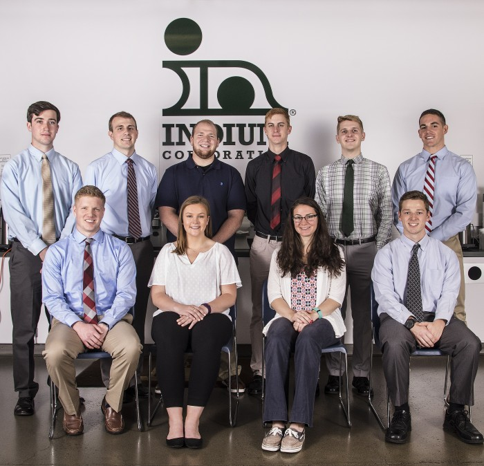 The Indium Corporation College Interns, Class of 2017