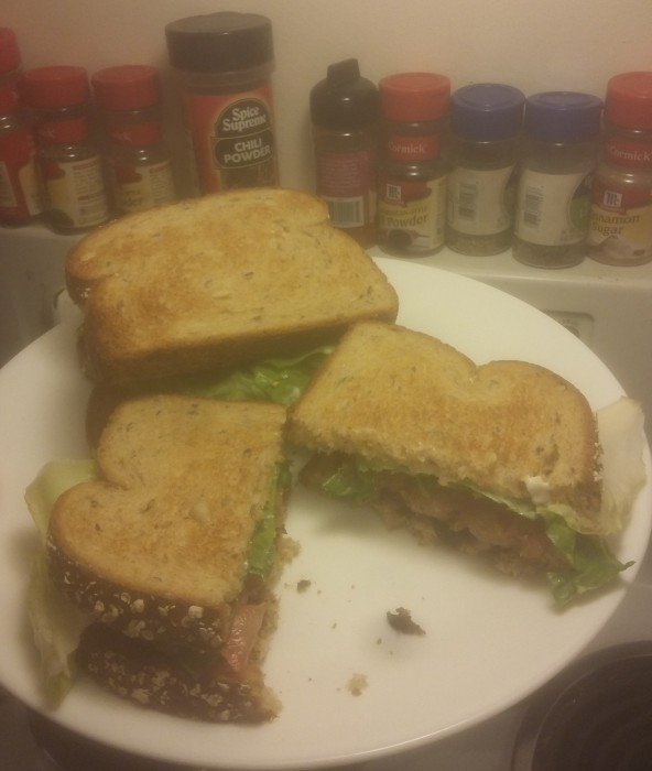 Slightly more delicious kind of BLT